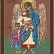 Guardian Angel Guarding Little Elijah Gemmell 191 Poster