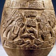 Guatemala: Mayan Vase Poster