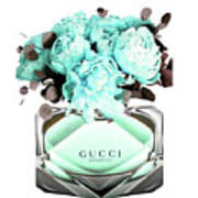 Gucci Blue Perfume Poster