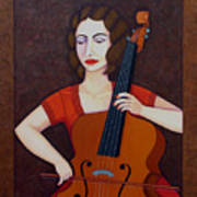 Guilhermina Suggia - Woman Cellist Of Fire Poster