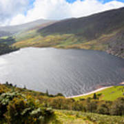 Guinness Lake In Wicklow Mountains  Ireland Poster