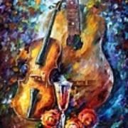 Guitar And Violin Poster