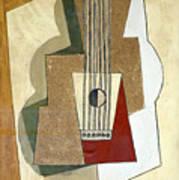 Guitar, By Pablo Picasso, 1919, Kroller-muller Museum, Hoge Velu Poster