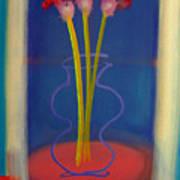 Guitar Vase Poster