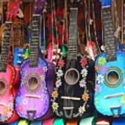 Guitarras Floriadas II Poster