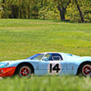 Gulf Mirage Ford Gt40 Poster