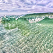Gulf Waves Poster