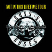 Guns And Roses Logo1 2017 Poster