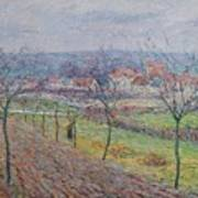 Gustave Loiseau 1865 - 1935 Big Spring Landscape Poster