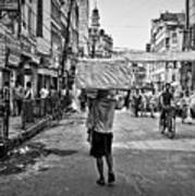 Guwahati In Black And White Poster