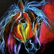 Gypsy Equine Poster