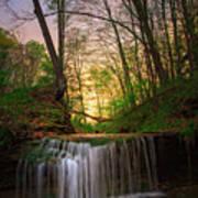 Gypsy Glen  Rd Waterfall  Poster