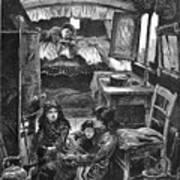 Gypsy Wagon, 1879 Poster