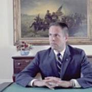 H. R. Haldeman Served As White House Poster