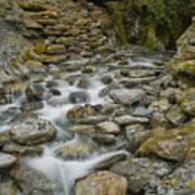 Haast Waterfall Poster