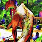 Haddonfield Hadrosaurus Foulkii Poster