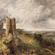Hadleigh Castle Poster by John Constable