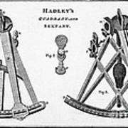 Hadleys Quadrant And Sextant, 1806 Poster