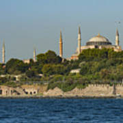Hagia Sophia And Blue Mosque Poster
