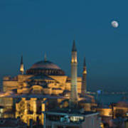 Hagia Sophia Museum Poster