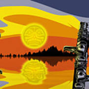 Haida Sunset Poster by Christopher Williams
