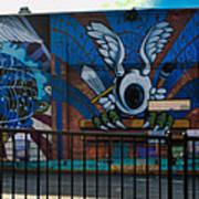 Haight Ashbury Mural Poster