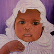Haitian Baby Orphan Poster