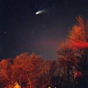 Hale-bopp Comet Poster