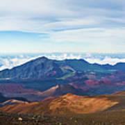 Haleakala Crater Poster