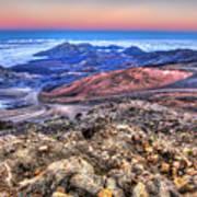 Haleakala Crater Sunset Maui II Poster