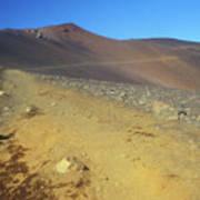 Haleakala Sliding Sands Trail In Volcano Poster