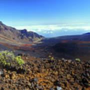 Haleakala Volcano Crater Poster