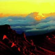 Halekala Sunrise Poster