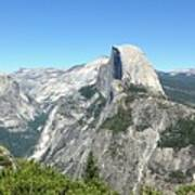 Half Dome From Inspiration Point Poster