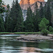 Half Dome In Evening Light Poster