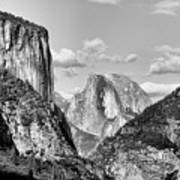 Half Dome Tunnel View  Poster