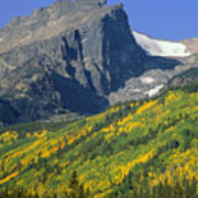 310221-v-hallet Peak In Autumn V  Poster
