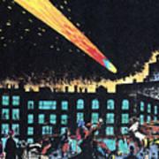 Halleys Comet, 1910 Poster