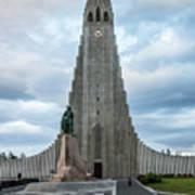 Hallgrimskirkja - The Largest Church In Iceland Poster