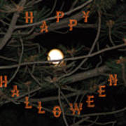 Halloween Card Poster