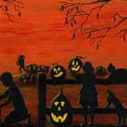 Halloween Harvest Poster