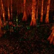 Halloween Woods Poster