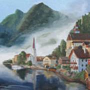 Hallstatt Austria Poster