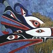 Hamatsa Masks Poster