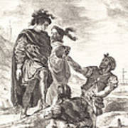 Hamlet And Horatio Before The Gravediggers (act V, Scene I) Poster