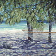 Hammock For Two Poster by Danielle  Perry