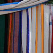 Hammocks In Colored Patterns Poster