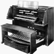 Hammond Organ 1960s Poster