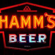 Hamm's Beer Poster