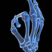 Hand Gesture Poster by MedicalRF.com